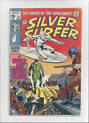 The Silver Surfer (Vol. 1) Issue: #10 Cover Date: November, 1969 - Good/ Very Go