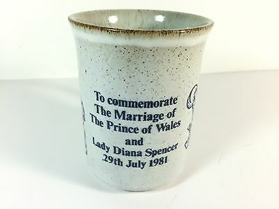 Dunoon 1981 Marriage of Prince of Wales & Lady Diana Spencer commemorative Mug