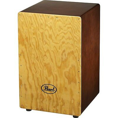 Pearl Primero Wood Box Cajon Gypsy Brown LN