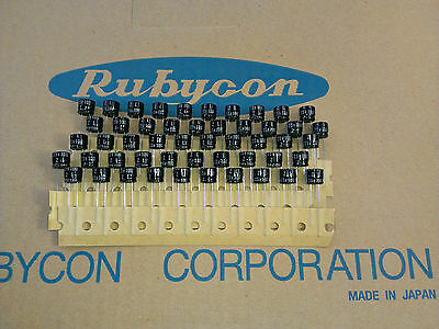 [50pcs]Rubycon series ZL 100uF 25V Low Imp electrolytic capacitors made in Japan