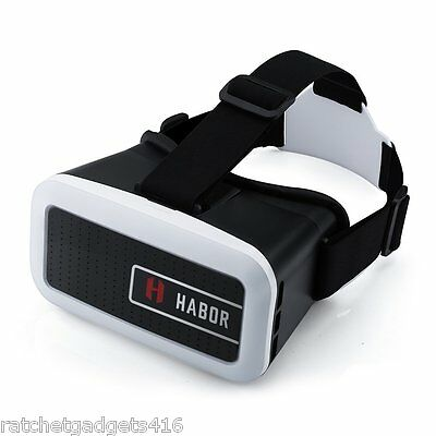 Habor 3D VR Virtual Reality Headset Video Glasses for iPhone 6s 6 Plus Samsung