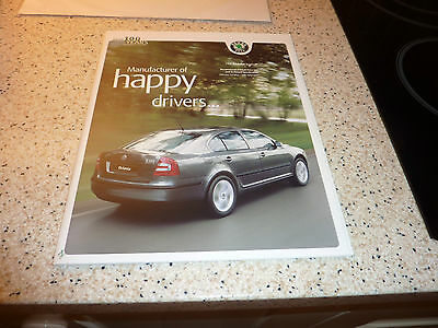 Skoda Octavia May-June 2007 UK Market Sales Brochure Hatchback Estate