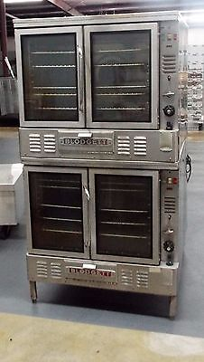 Blodgett Double Stack Convection Ovens Gzl-10 Natural Gas Convection Oven