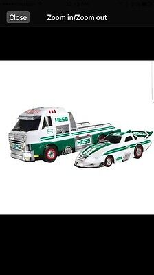 2016 Hess Truck And Dragster Factory Sealed