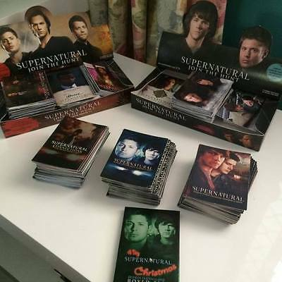 Over 500 Supernatural Trading Cards (Inc. Rare)