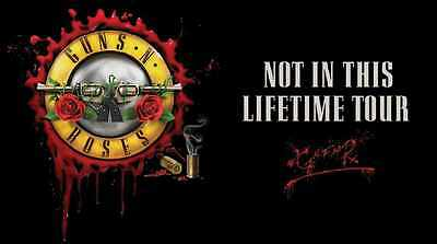 Guns n Roses ticket Slane Castle 2017