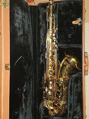 Selmer Paris Mkvi Tenor Saxophone, 1955, Original Lacquer Rare Double Ss On Neck
