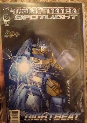 IDW Transformers Spotlight : Nightbeat