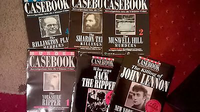 Murder Casebook Magazines (Complete Set of 150 Issues)