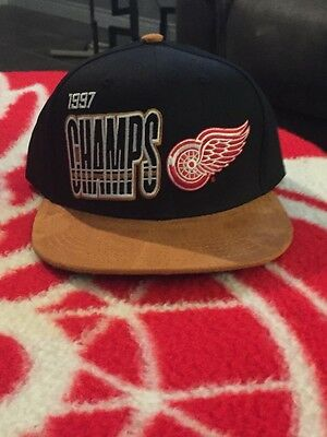 Detroit Red Wings Farewell To The Joe 1997 Stanley Cup Championship Hat SGA 12/2