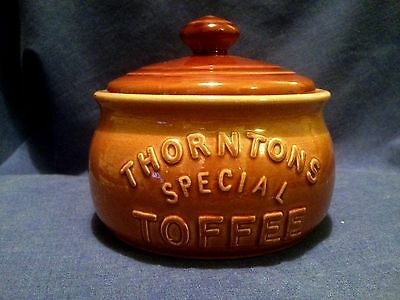 Thorntons Special Toffee. Pot