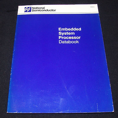National Semiconductor Embedded System Processor Databook 1989