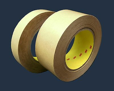 3M 465 Adhesive Transfer Tape - 1 in x 60 yd _ Lot of 4 Rolls