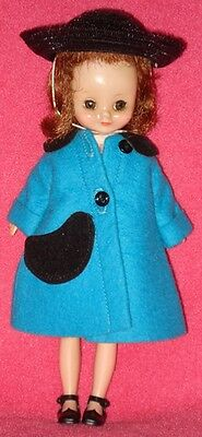 EX! AO! Vintage 1950s BETSY MCCALL DOLL with Dress Set, Coat, Hat, Etc!