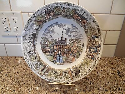 WEDGWOOD Williamsburg Ware Commemorative Collector's Plate Governor's Palace