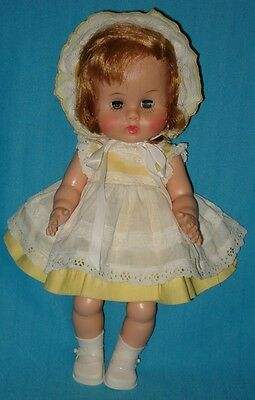 "AO! 1964 Vintage Vogue 12"" GINNY BABY DOLL"
