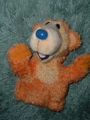 Disney Bear In The Big Blue House Singing Bear Hand Puppet By Applause