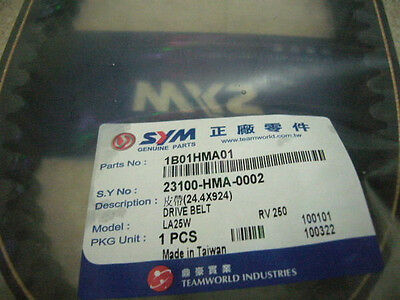 SYM Genuine Parts V-BELT fit SYM GTS JOYMAX 250i RV 250 CVT TRANSMISSION Belt