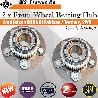 2 Ford Falcon AU/BA/BF Territory 2WD Front Wheel Bearing Hub