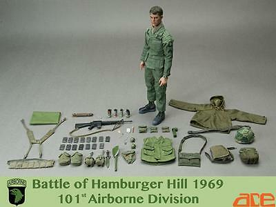 Ace Works Busy-Hamburger Hill Vietnam Action Figure