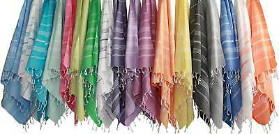Peshtemal Turkish Towels - 100% Cotton - 34 Colours