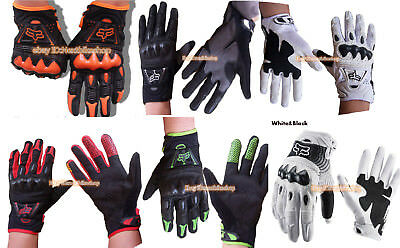 All new Fox Racing Bomber Motorcycle Bike Gloves
