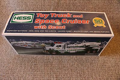 HESS 2014 Toy Truck and Space Cruiser With Scout 50 Year Anniversary NIB