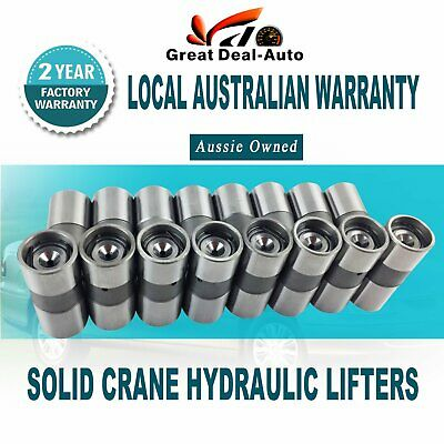 Holden V8 253 308 304 Efi 5.0L Solid Crane Hydraulic Lifters Genuine Machter