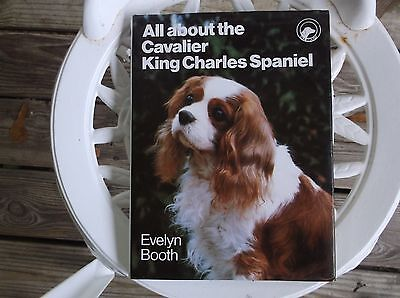 Cavalier King Charles Spaniel, dog book, by Evelyn Booth