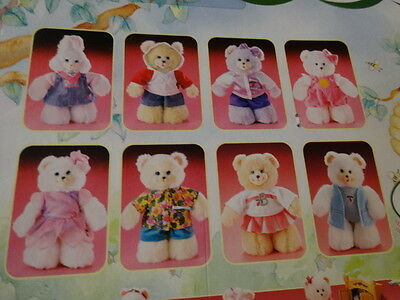 BRIARBERRY BEARS: outfit  nrfb  2000.  satin jacket,white sleeves,pink trim,bow