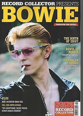 Record Collector Presents 'bowie' Through The Music : Special Edition Magazine