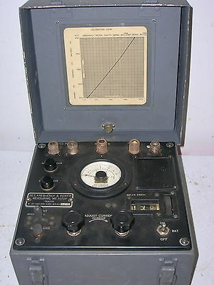 Western Electric ME-51/UP Test Set (with Speedometer Meter)
