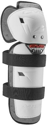 EVS Sports White Option Knee Guards OPTK16-W-A 72-7247