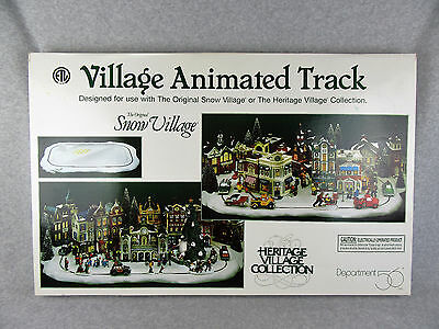 Dept 56 Village Accessory  Village Animated Track - Track Doesn't Move