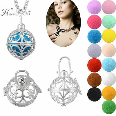 Fragrance Women Chain Necklace Diffuser Aromatherapy Dottera Essential Oils Set