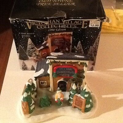 Victorian Village Collection 1998 edition The Old Towne Tree seller