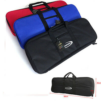 Recurve Bow Case f Bow and Arrow Handle Carrying Waterproof Archery Bag 3 Colors