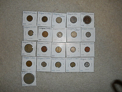 21 coins from the Philippines