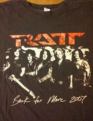 Ratt Tour Tee Shirt.2007. Distressed.