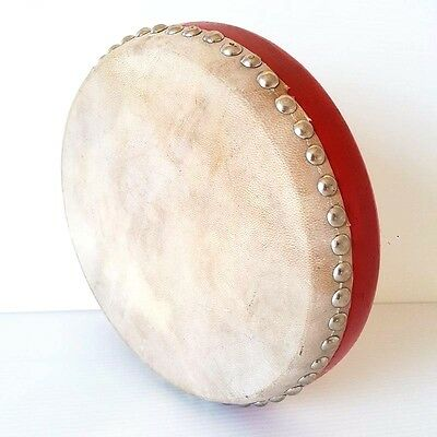 Drums Percussion Instrument Old Handicraft Wood Leather Love Musical Beat Played