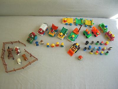 vintage toys fisher price little people collection