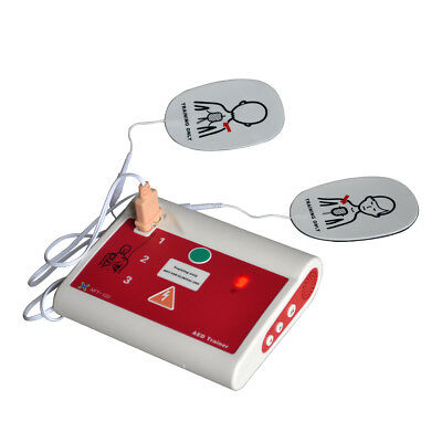 Automatic External Defibrillator AED Trainer CPR Training In English&Netherlands