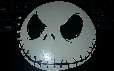 London Disney NBC Nightmare Before Christmas Jack Skellington Face Notepad Paper