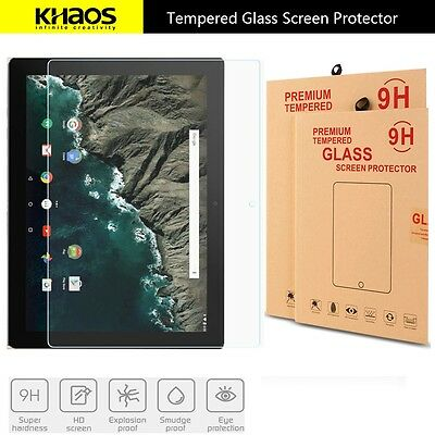 """KHAOS For Google Pixel C Protect 10.2"""" HD Tempered Glass Screen Protector"""