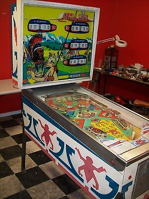 Williams Little Chief Pinball Machine  Not  Working  Project  $850