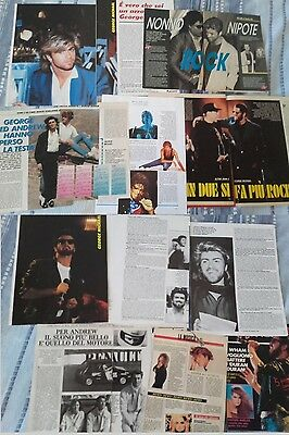 GEORGE MICHAEL_Andrew Ridgeley_WHAM !_1985-1993_italian clippings_articoli