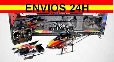 Helicoptero profesional Wltoys V913 4 canales Sky Leader listo para volar 70CM