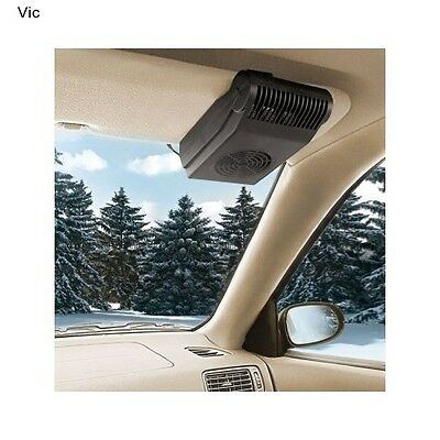 Car Windshield Window Defogger Heater Demister Defroster Warmer Fan Portable 12V