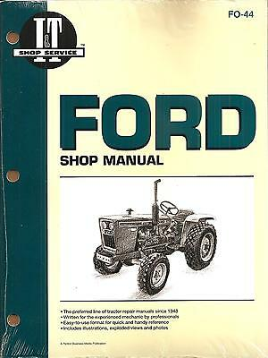 Ford 1100, 1200, 1300, 1500, 1700, 1900 & '10' SERIES INCLUDING 2110 MANUAL