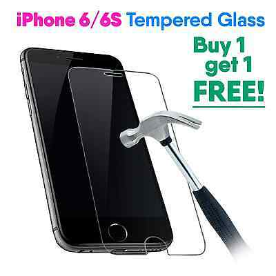 Genuine Tempered Glass Film Screen Protector For Apple Iphone 6S- New